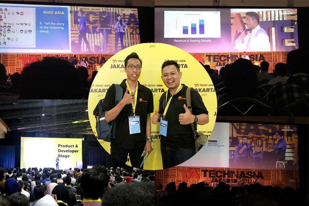 Kotakmedia at Tech In Asia Jakarta 2017