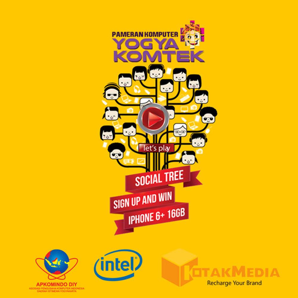 Kolaborasi Kotakmedia Indonesia dan Yogyakomtek di Event Tahunan Pameran Komputer